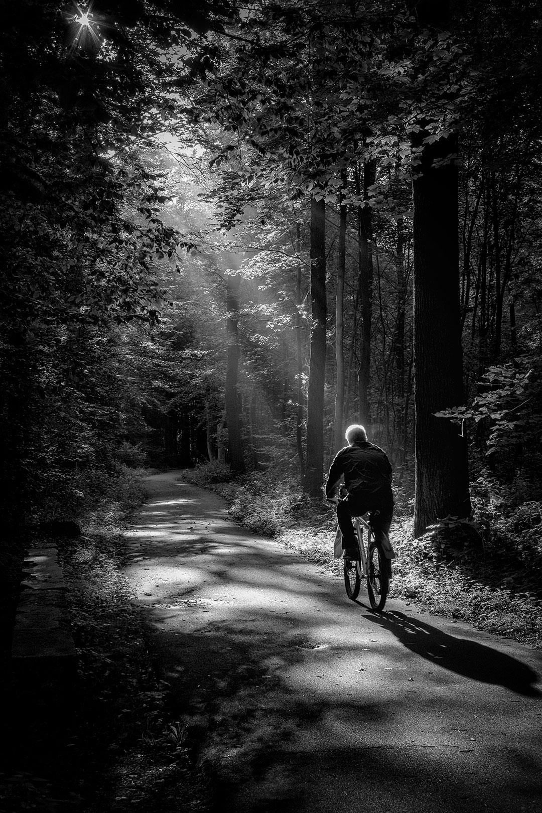 Ride into the light NFT Sebastian Berger